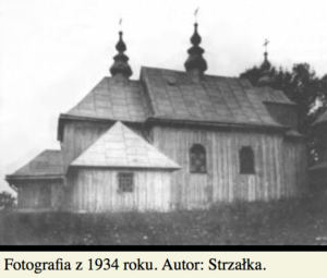 Cerkiew wKrywe k. Cisnej