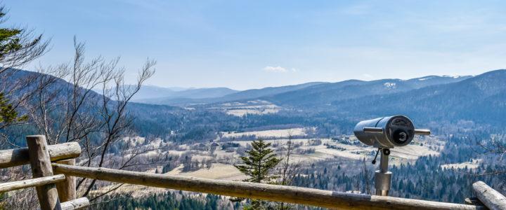 Widok z wieży Jeleni Skok